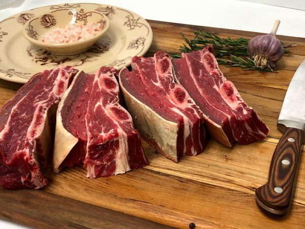 Beef Short Ribs on cutting board